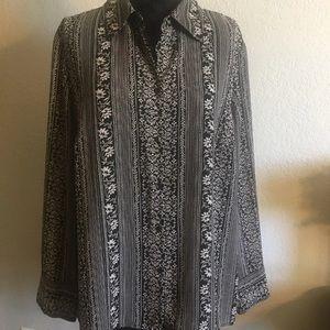 Lane Bryant plus size blouse